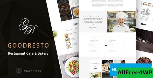 Download GoodResto v2.3 - Restaurant WordPress Theme + Woocommerce
