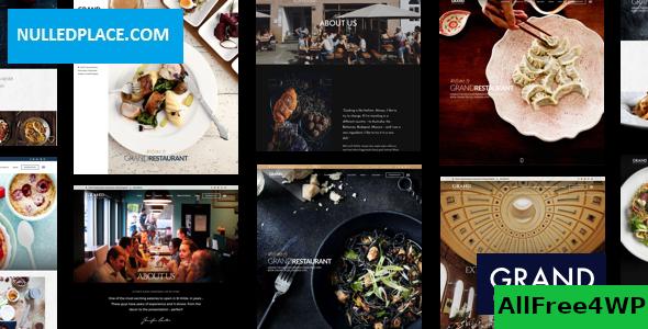 Download Grand Restaurant v5.4 - Restaurant Cafe Theme