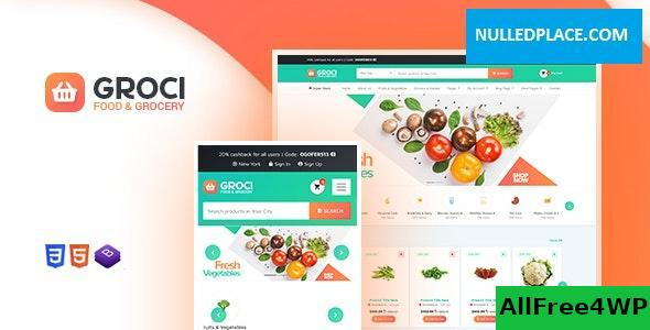 Download Groci v1.9.9 - Organic Food and Grocery Market WordPress Theme
