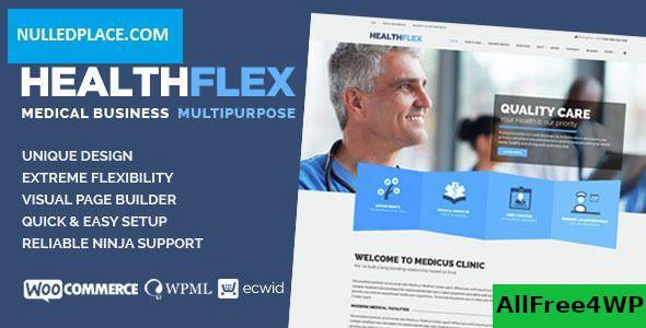 Download HEALTHFLEX v1.6.5 - Medical Health WordPress Theme