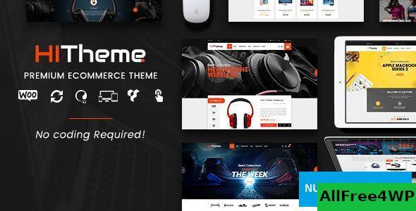 Download HiTheme v1.6.7 - Digital Store & Fashion Shop WordPress WooCommerce Theme