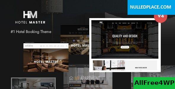 Download Hotel Master v4.0.4 - Hotel Booking WordPress Theme