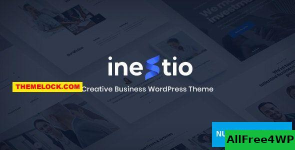Download Inestio v1.0 - Business & Creative WordPress Theme