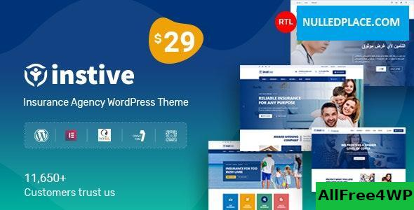 Download Instive v1.0.6 - Insurance WordPress Theme