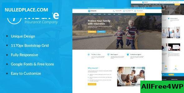 Insure v1.0 - Insurance, Finance, & Business HTML Template