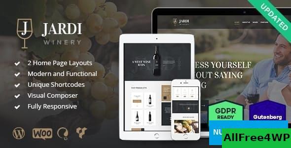Download Jardi v1.8 - Winery, Vineyard & Wine Shop WordPress Theme