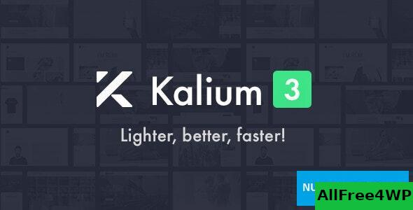 Download Kalium v3.0.1 - Creative Theme for Professionals