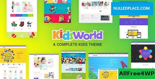 Download Kids Heaven v2.1 - Children WordPress Theme