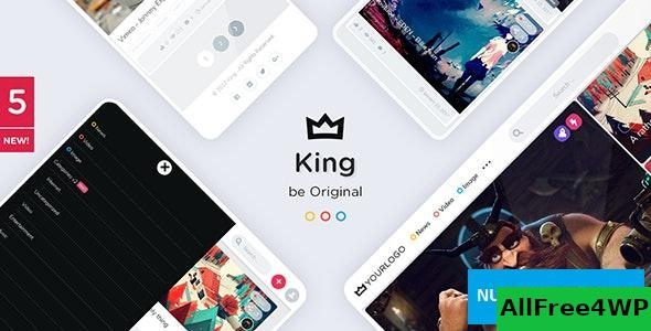 Download King v5.1 - WordPress Viral Magazine Theme