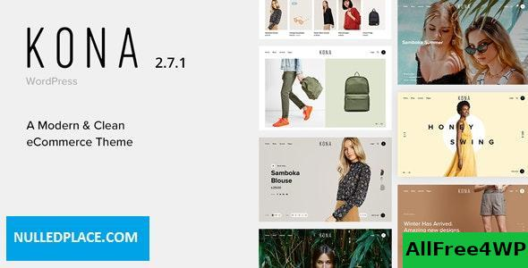 Download Kona v2.7.1 - Modern & Clean eCommerce WordPress Theme