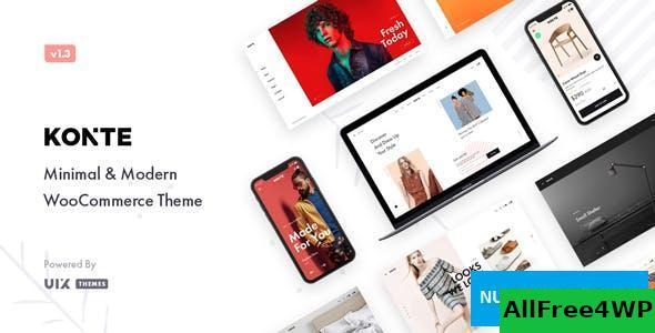 Download Konte v1.7.1 - Minimal & Modern WooCommerce Theme
