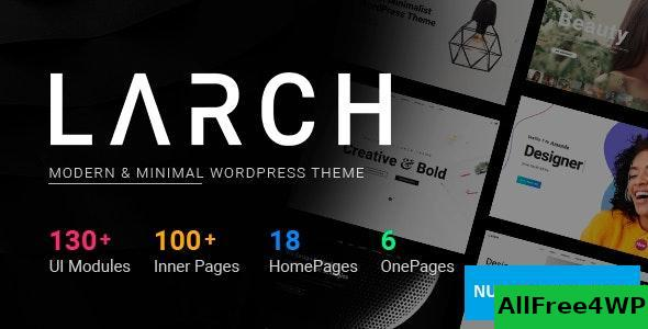 Download Larch v1.8.2 - Responsive Minimal Multipurpose WordPress Theme