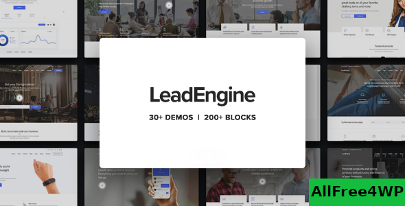 Download LeadEngine v2.1 - Multi-Purpose Theme with Page Builder