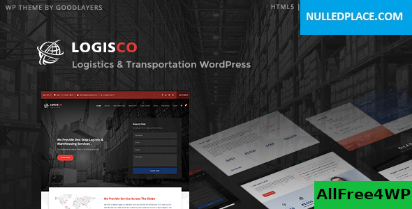 Download Logisco v1.0.4 - Logistics & Transportation WordPress