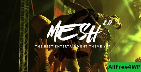 Download MESH v2.3.0 - Music, Band, Musician, Event, Club Theme