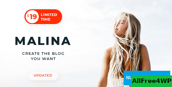 Download Malina v1.9.3 - Personal WordPress Blog Theme