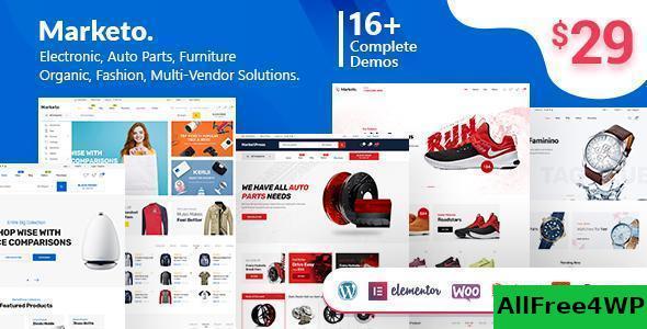 Download Marketo v2.1 - ECommerce & Multivendor Theme