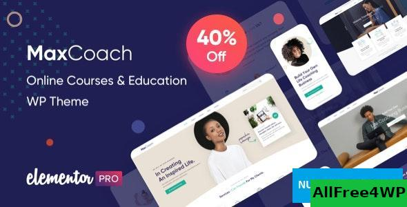 Download MaxCoach v1.2.5 - Online Courses & Education WP Theme