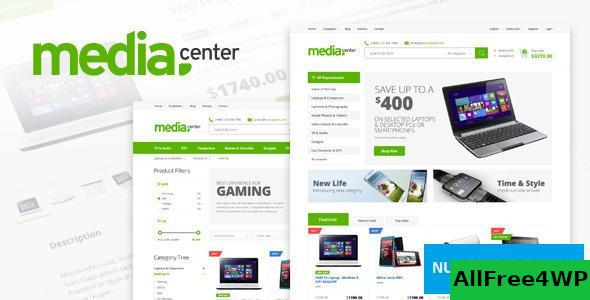 Download MediaCenter v2.7.14 - Electronics Store WooCommerce Theme