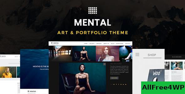 Download Mental v2.5.0 - Art & Portfolio WordPress Template