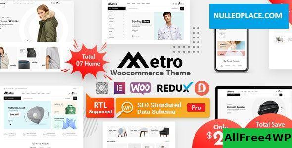 Download Metro v1.3 - Minimal WooCommerce WordPress Theme