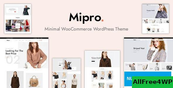 Download Mipro v1.1.4 - Minimal WooCommerce WordPress Theme