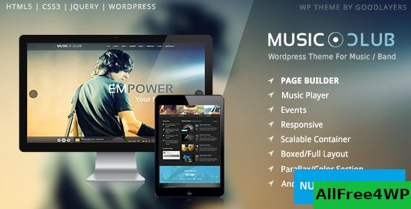 Download Music Club v1.6 - Band | Party WordPress