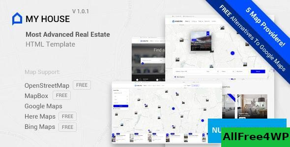 My House v1.0.1 - Advanced Real Estate Template