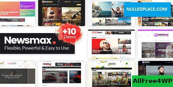 Download Newsmax v3.1 - Multi-Purpose News & Magazine Theme