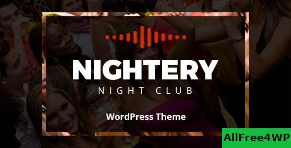 Download Nightery v1.2.6 - Night Club WordPress Theme