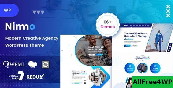 Download Nimmo v1.1.7 - One page WordPress