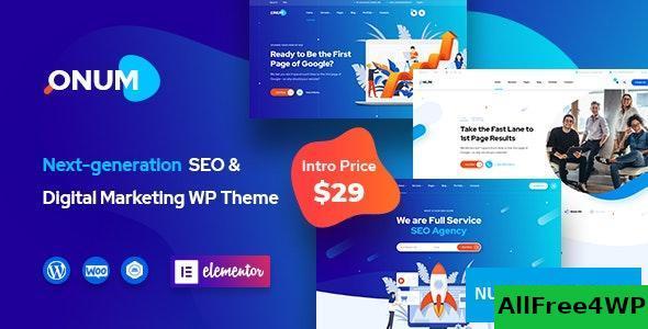 Download Onum v1.1.4 - SEO & Marketing Elementor WordPress Theme