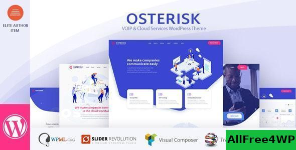 Download Osterisk v1.9 - VOIP & Cloud Services WordPress Theme