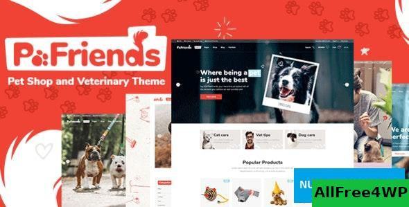 PawFriends v1.0 - Pet Shop and Veterinary Theme