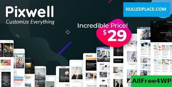 Download Pixwell v4.3 - Modern Magazine