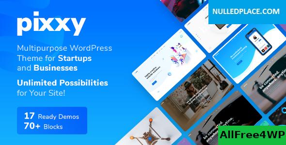 Download Pixxy v1.1.2 - App, Software & SaaS Startup WordPress