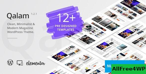 Download Qalam v1.3.0 - NewsPaper and Magazine WordPress Theme