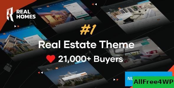 Download Real Homes v3.10.2 - WordPress Real Estate Theme