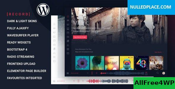 Download Rekord v1.3.7 - Ajaxify Music - Events - Podcasts Multipurpose WordPress Theme