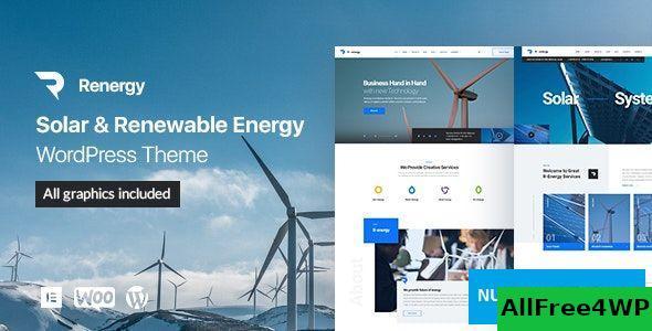 Download Renergy v1.0.3 - Solar and Renewable Energy WordPress Theme