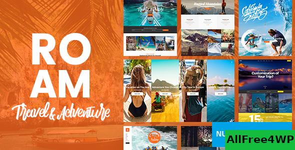 Download Roam v1.7.1 - Travel and Tourism WordPress Theme