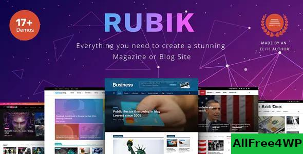 Download Rubik v1.9 - A Perfect Theme for Blog Magazine Website