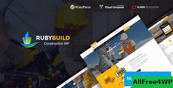 Download RubyBuild v1.7 - Building & Construction WordPress Theme