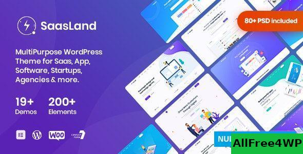 Download SaasLand v3.1.0 - MultiPurpose Theme for Saas & Startup