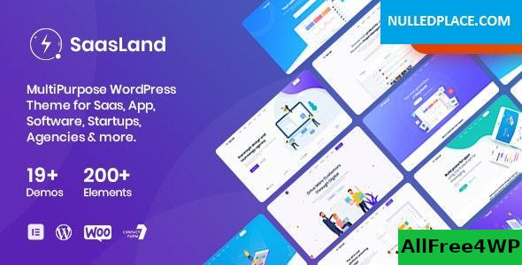 Download SaasLand v3.1.3 - MultiPurpose Theme for Saas & Startup