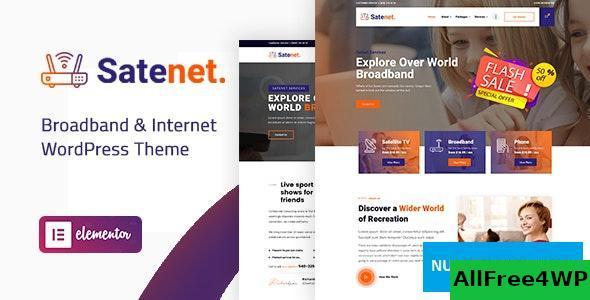 Download Satenet v1.0.0 - Broadband & Internet WordPress Theme