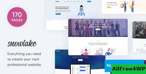 Snowlake v1.0 - Creative Business & Startup Template