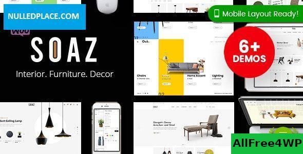 Soaz v1.0.7 - Furniture Store WordPress WooCommerce Theme (Mobile Layout Ready)
