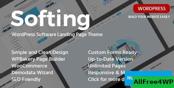 Download Softing v1.3.2 - WordPress Software Landing Page Theme