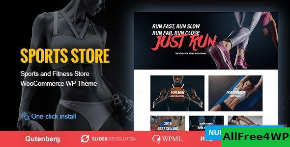 Download Sports Store v1.0.9 - Sports Clothes & Fitness Equipment Store Theme